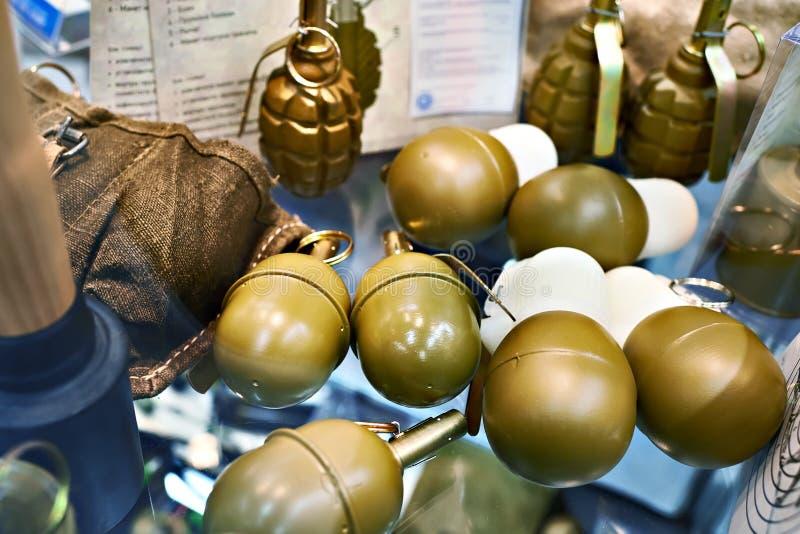 在博物馆博览会的手榴弹rgd5