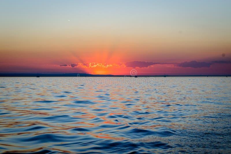 在博登湖的史诗流浪汉 库存照片