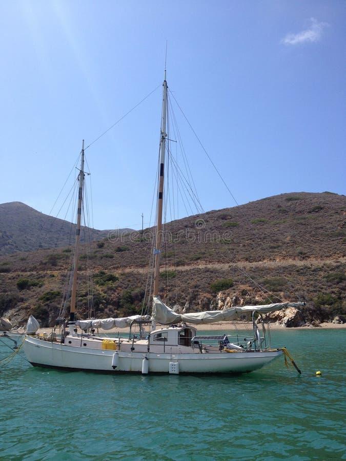 在卡塔利娜海岛的旅行 免版税库存图片