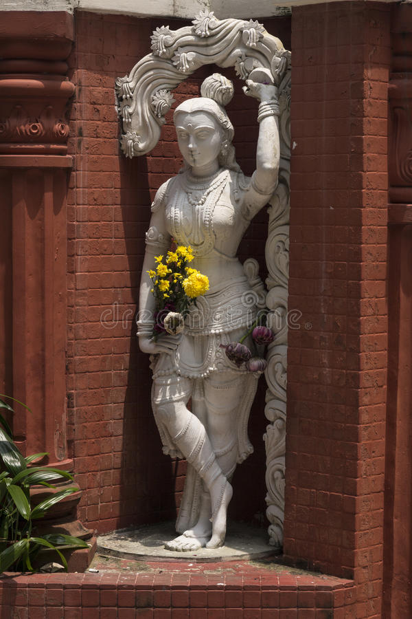 在印度寺庙的装饰 库存图片