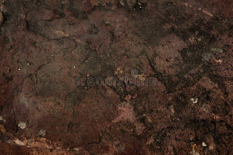 在古庙的残破的地板 免版税图库摄影