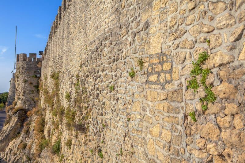 堡垒墙壁 库存图片