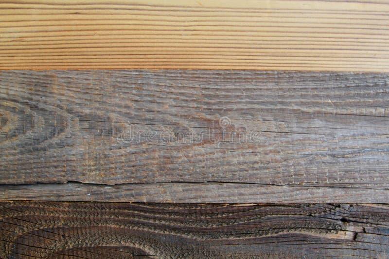 在古色古香的神色的木纹理 免版税图库摄影
