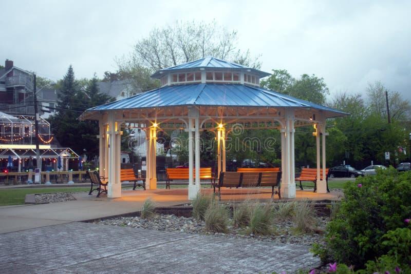 在吉伯特海滨公园的眺望台 免版税库存图片