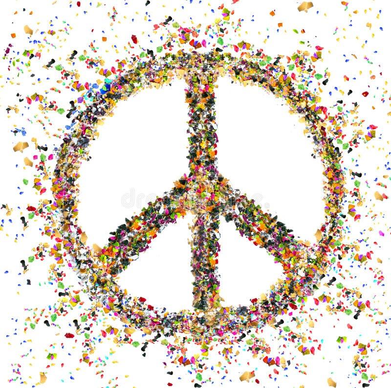 在和平的变化 免版税图库摄影