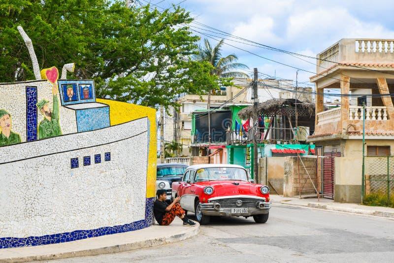 在哈瓦那古巴发现Fusterlandia 免版税图库摄影