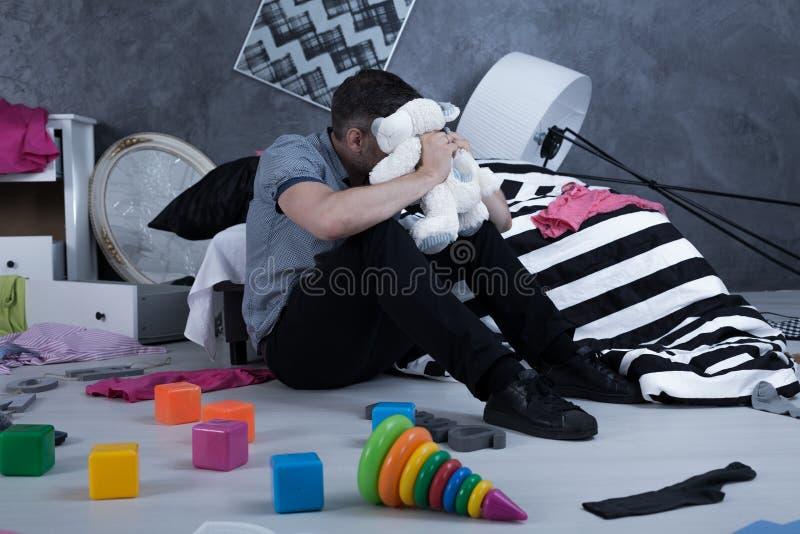 在哪里我可怜的婴孩? 免版税库存图片