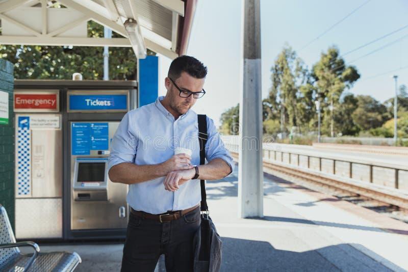 在哪里我的火车 免版税库存图片