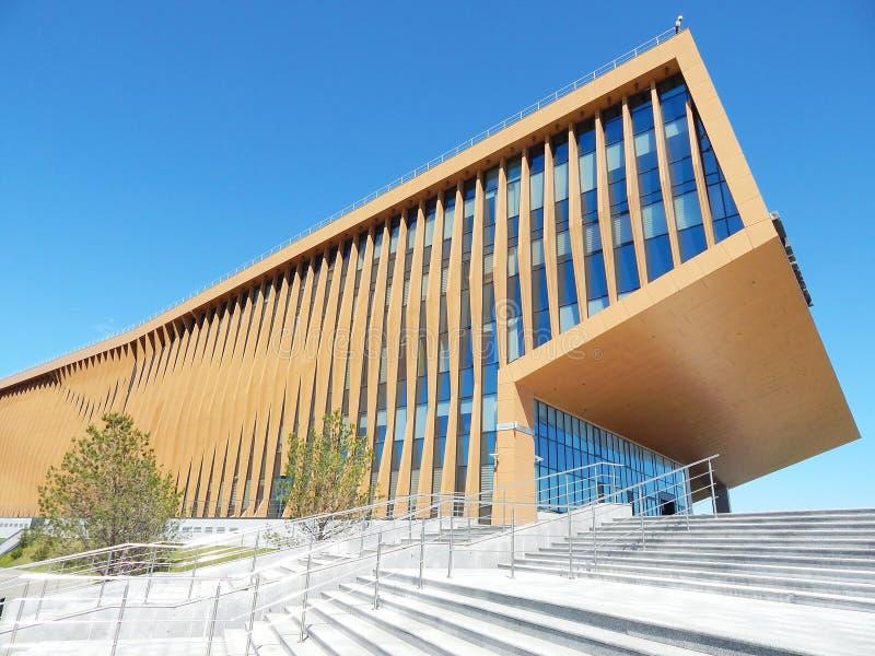 在喀山`城市的附近大学Innopolis在鞑靼斯坦共和国,俄罗斯 免版税图库摄影