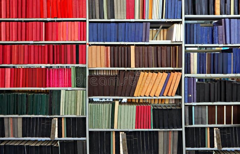 在图书馆里 免版税图库摄影