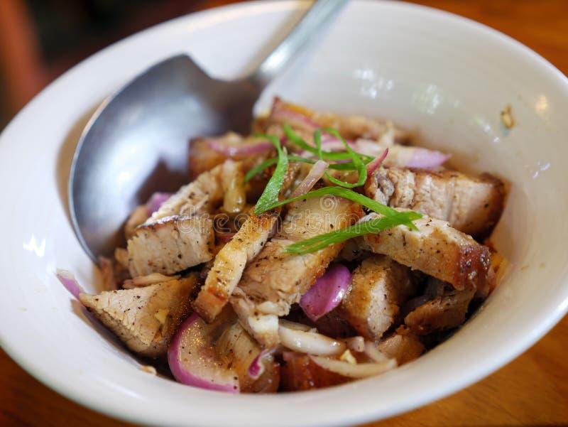在土格加劳市的烤肉 库存图片