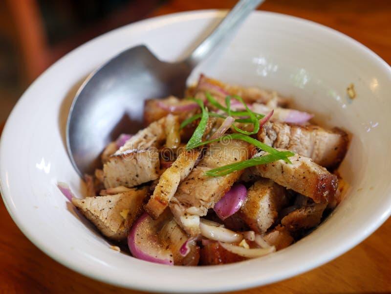 在土格加劳市的烤肉 免版税库存图片