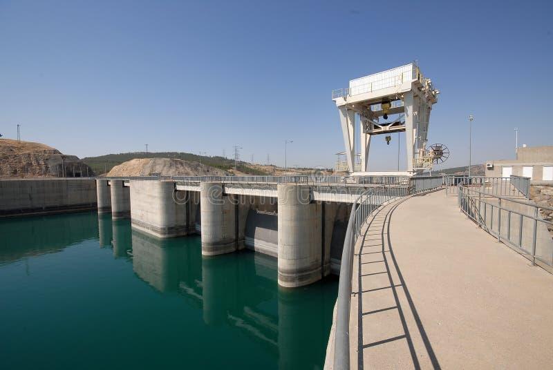 Ataturk水坝在土耳其 免版税库存照片