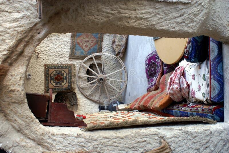 在土耳其里面的房子 免版税库存图片