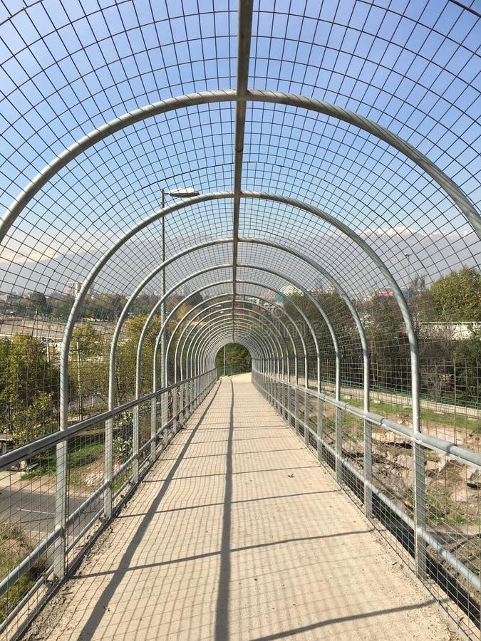 在圣地亚哥辣椒的风景 免版税库存图片