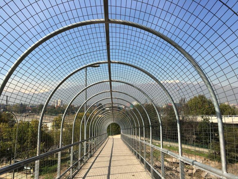 在圣地亚哥辣椒的风景 免版税库存照片