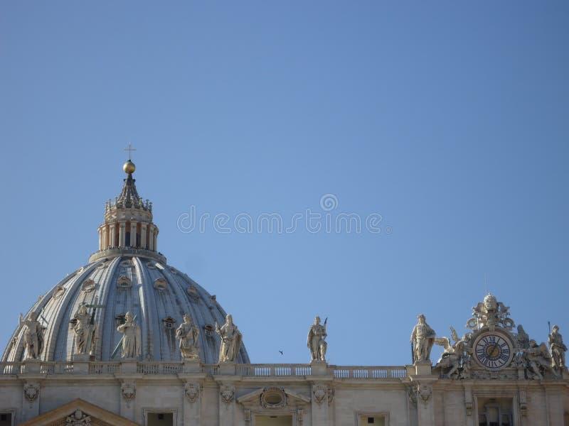 在圣彼得的圆顶 图库摄影