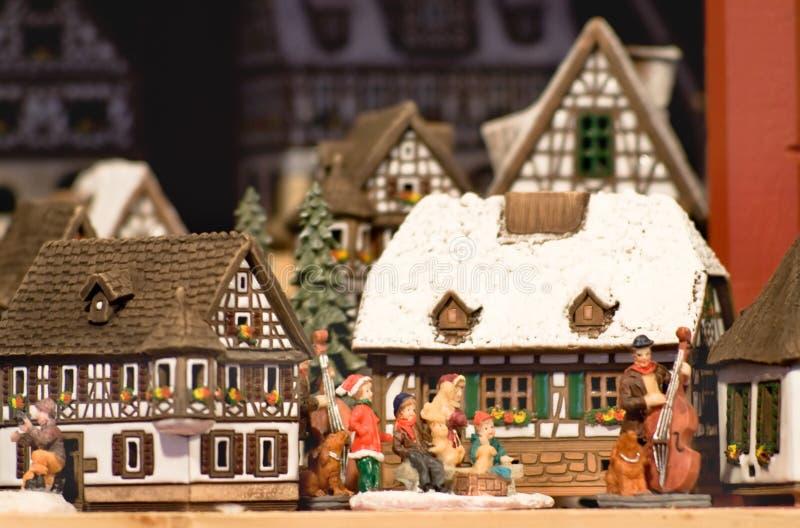 在圣诞前夕的神仙的礼物在奥地利 免版税库存图片