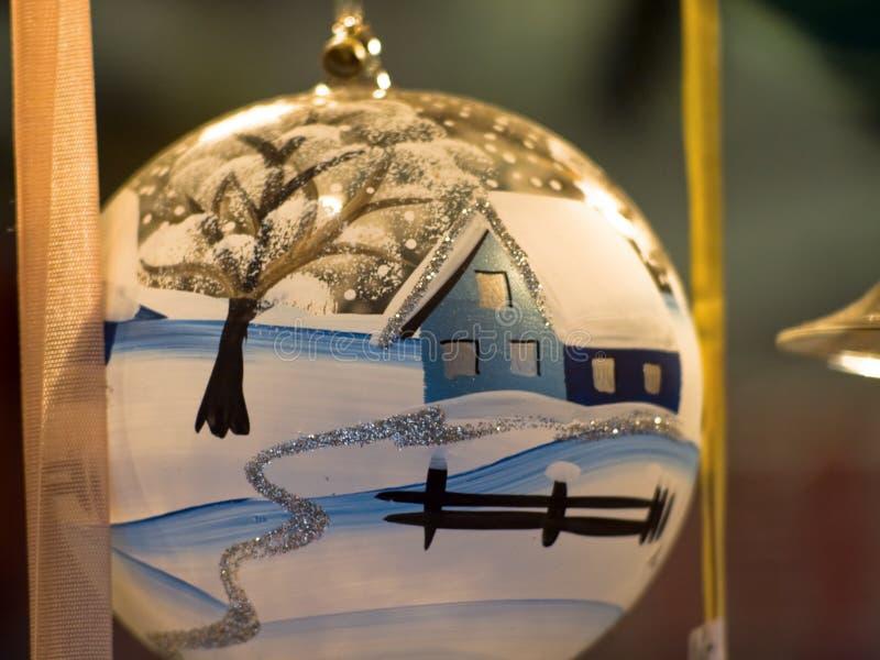 在圣诞前夕的神仙的礼物在奥地利 免版税图库摄影
