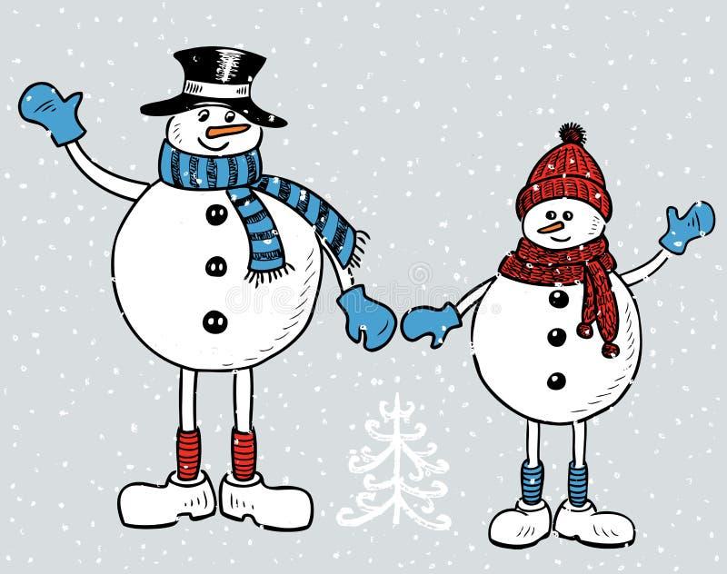 疯狂猜成语雪人_在圣诞节时间的幼小快乐的雪人