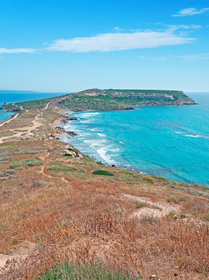 在圣Marco海角的蓝天 库存图片