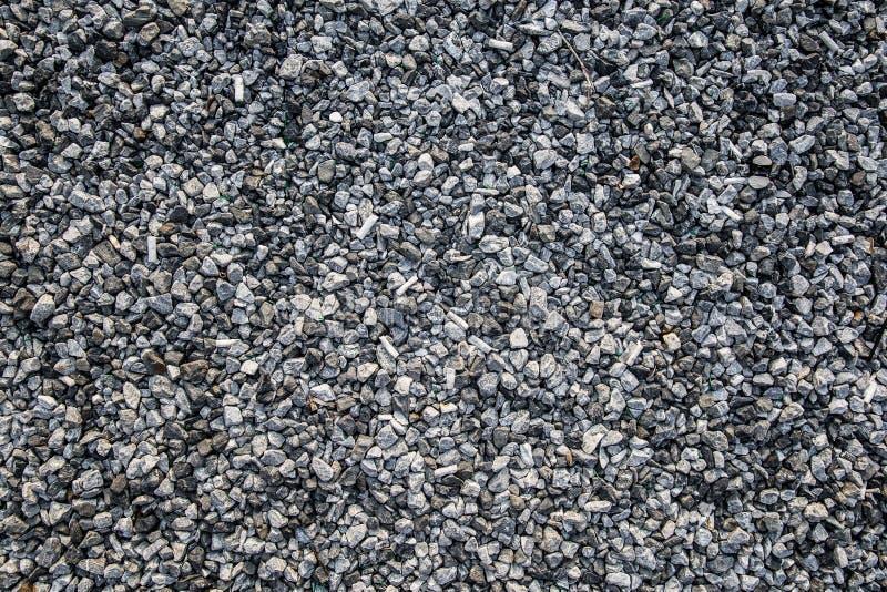 在地板上的石渣 免版税库存图片
