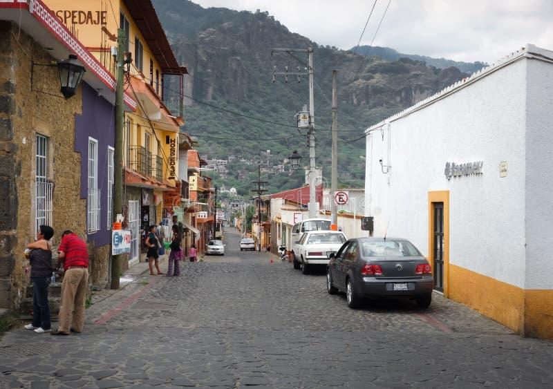 在城市,墨西哥城,墨西哥 图库摄影