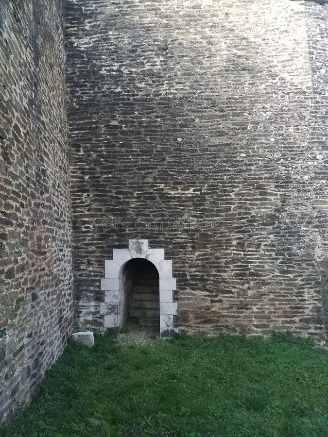 在堡垒的暗藏的部分 免版税库存图片