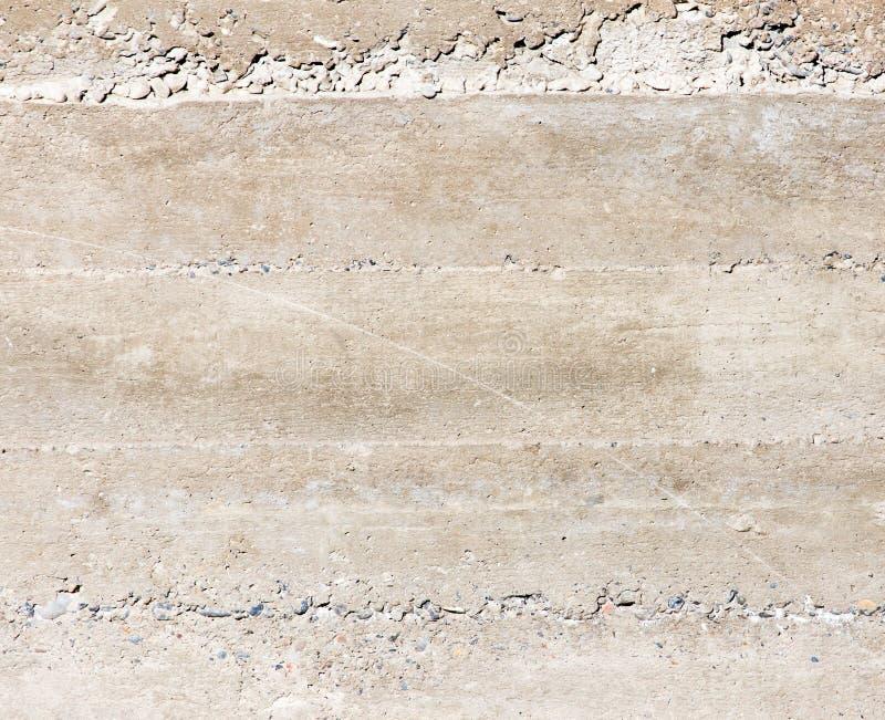 在墙壁上的新鲜的混凝土作为背景 库存图片