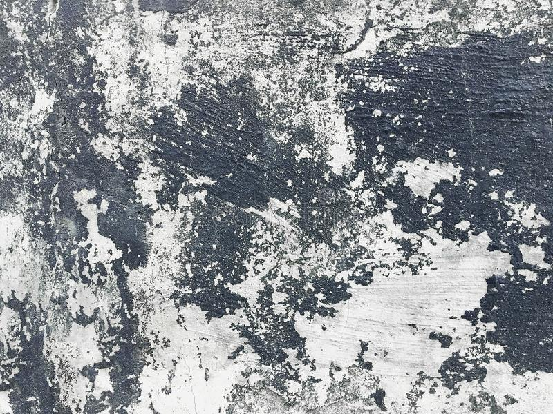 在墙壁无缝的纹理的削皮油漆 库存照片