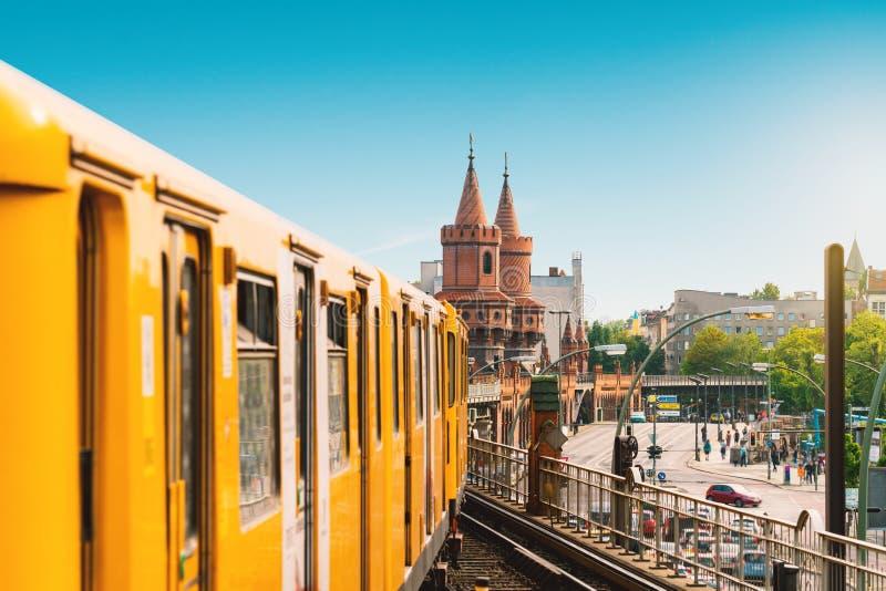 在夏天期间,柏林,德国, 免版税库存图片