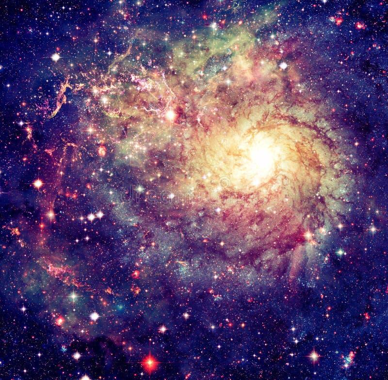在外层空间的令人敬畏的星云 美国航空航天局装备的这个图象的元素 库存图片