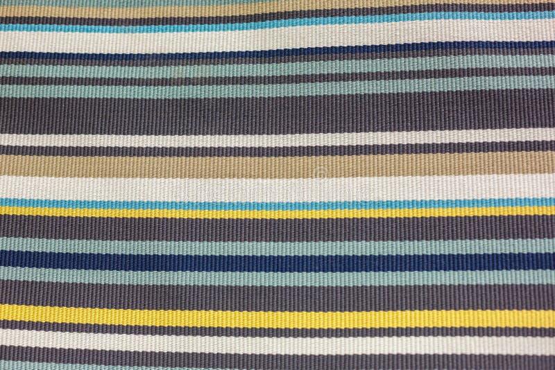 在多彩多姿的条纹的软的地毯 库存图片