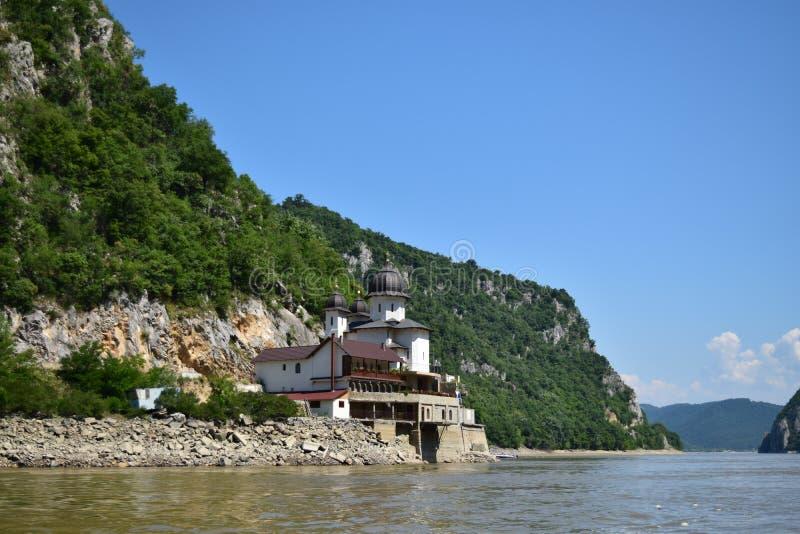 在多瑙河的夏天 免版税库存图片