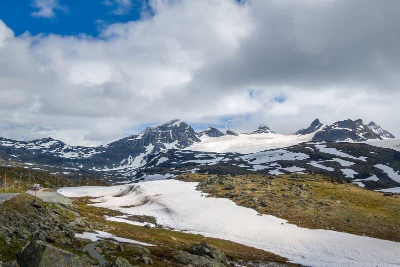驱动器, 驱动, 高, 小山, 冰, 旅途, 横向, 山, 本质, 北欧人, 挪威图片