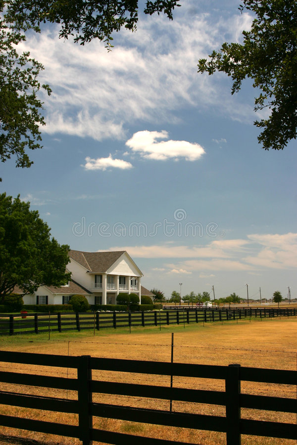在大农场southfork附近的达拉斯 免版税图库摄影