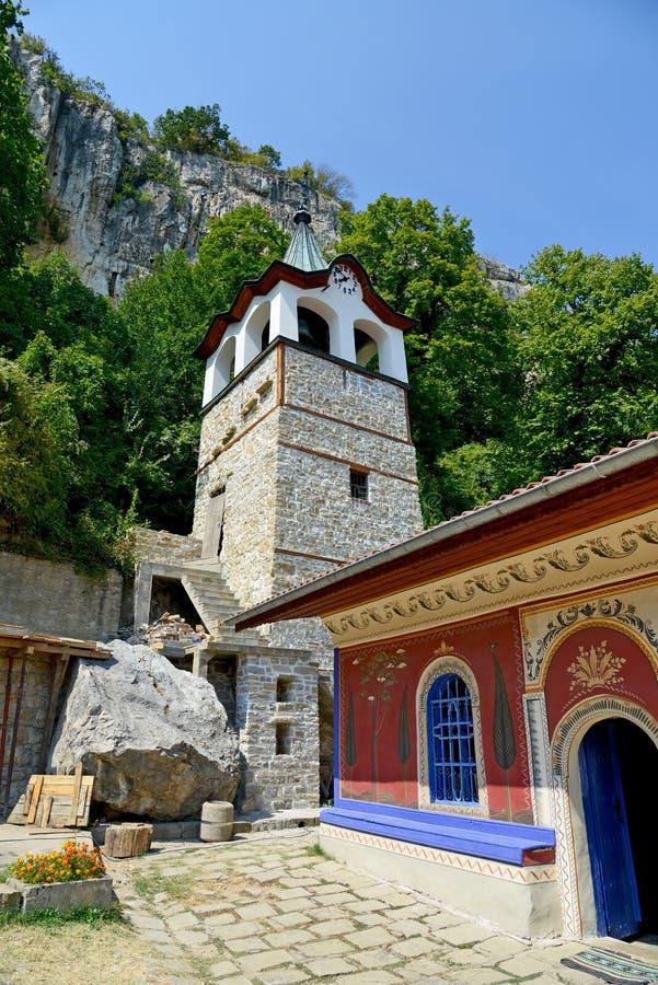在大特尔诺沃附近的变貌修道院 库存照片