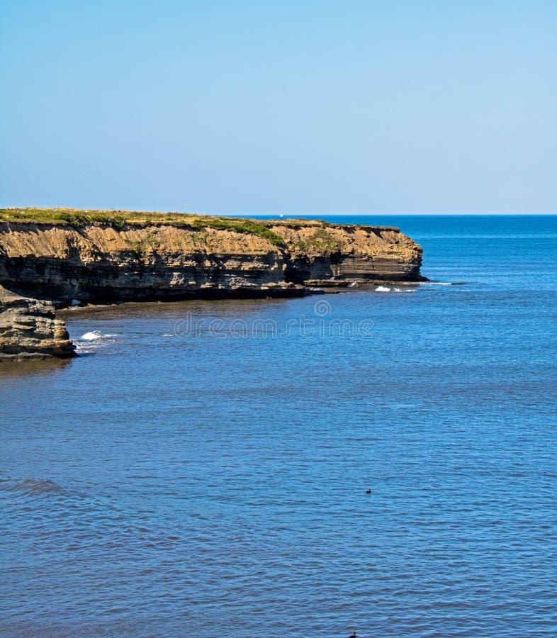 在大西洋糖渍的海湾的,新斯科舍的虚张声势 免版税库存图片