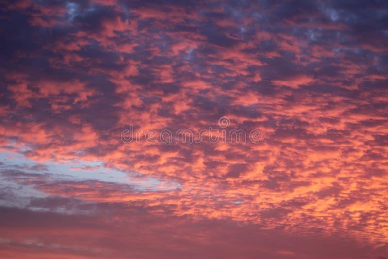 在大西洋的日落从Bermuds 库存图片