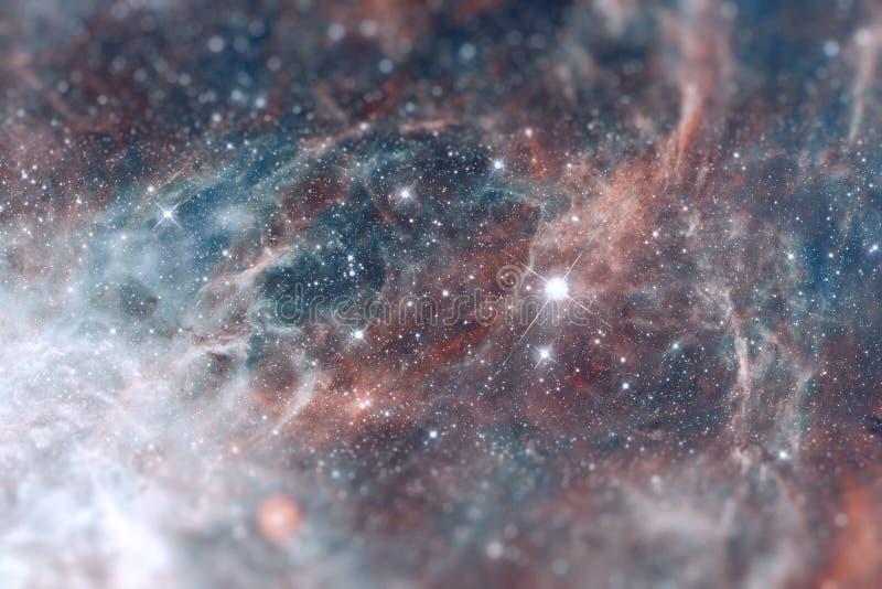 在大麦哲伦星系星系的地区30 Doradus谎言 免版税库存照片