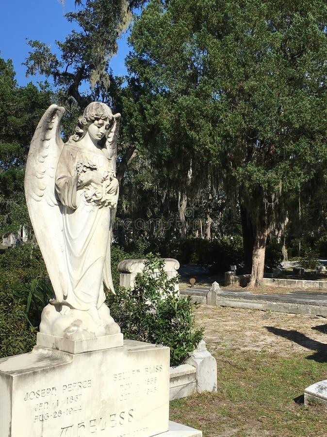 在天使的信念 库存图片