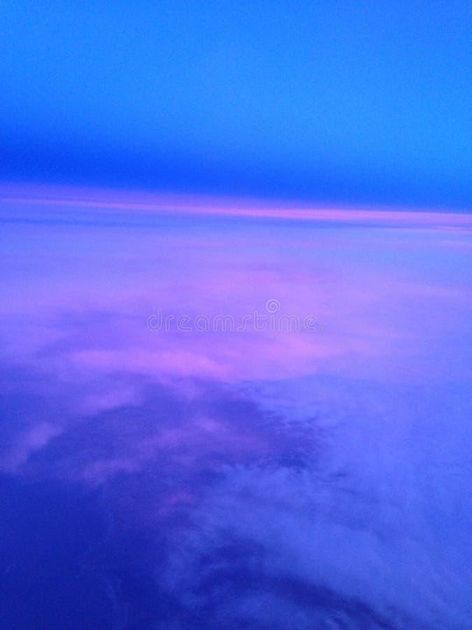 在天空之上 库存照片