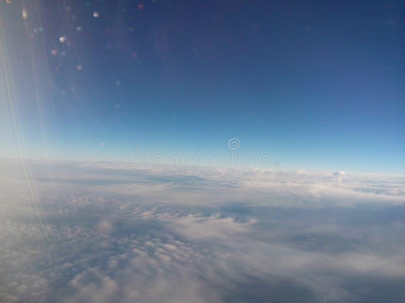 在天空的图片 库存照片