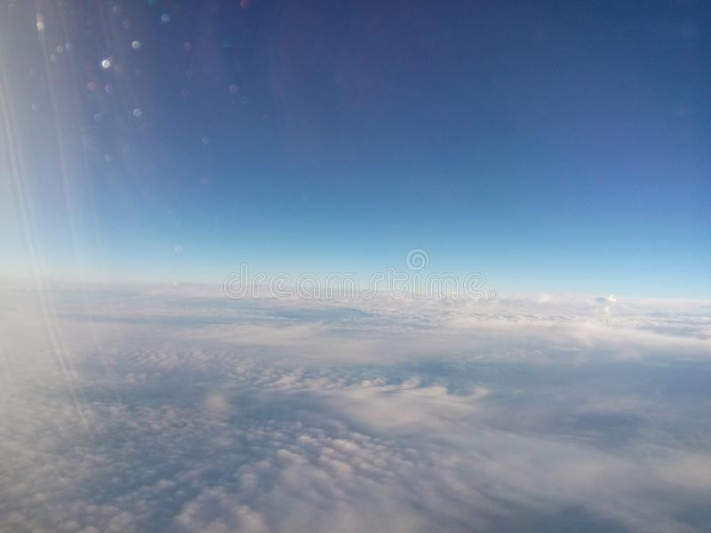 在天空的图片 库存图片
