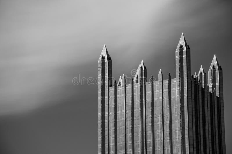 在天空的城堡 免版税图库摄影