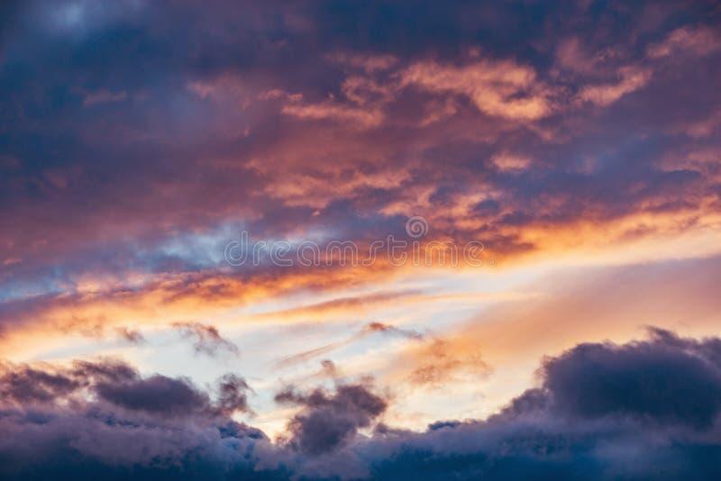 在天空的惊人的cloudscape 库存图片