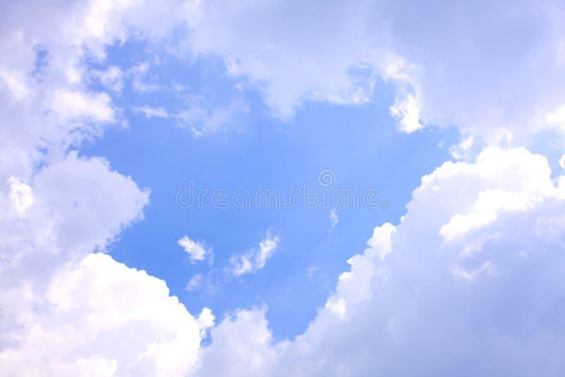 在天空的空间。 免费图库摄影