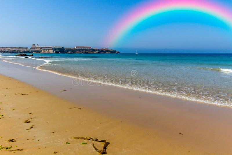 Download 在天空的美丽的彩虹 库存图片. 图片 包括有 beautifuler, 和谐, 自然, 蓝色, 光彩, 奇迹 - 59102185