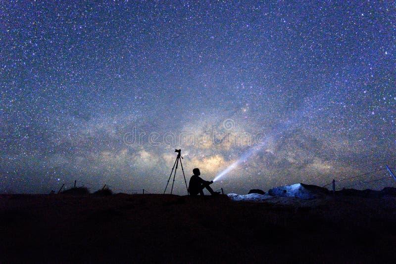 在天空的银河