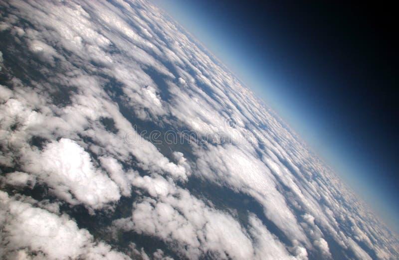 在天空的Aaaerials 免版税图库摄影